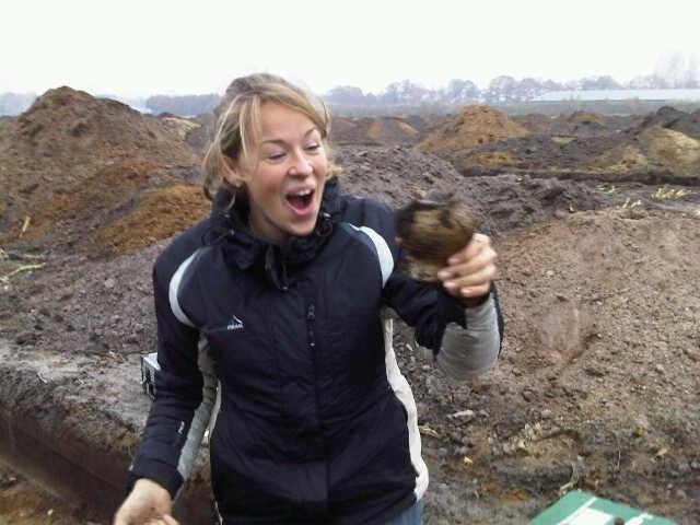 Opgraving Golfterrein Hoogland-West - Archeologen zijn altijd blij met mooie vondsten
