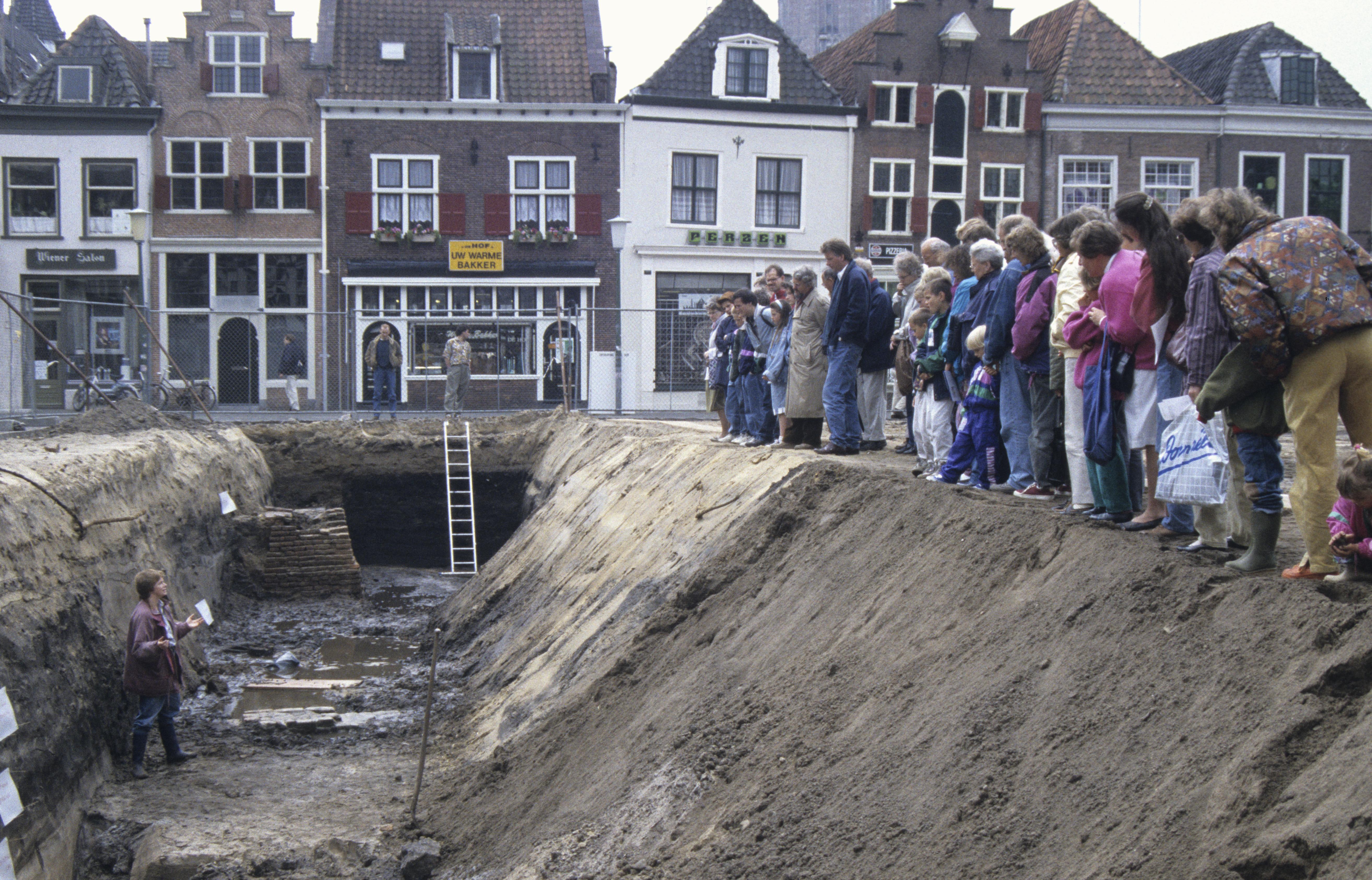 Open dag op opgraving op De Hof