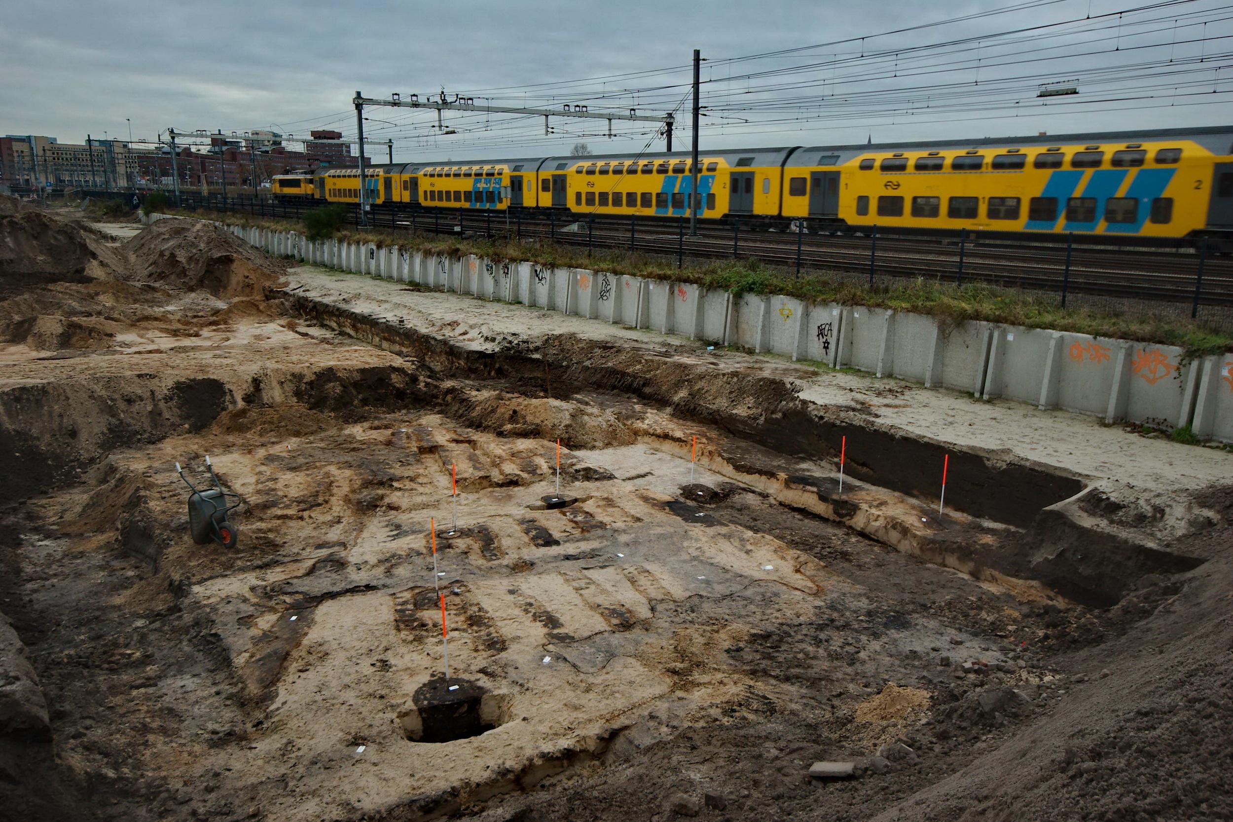 Opgraving Meursingterrein - Middeleeuwse boerderijen aan het spoor